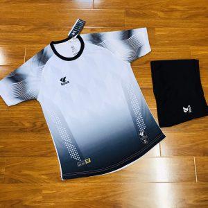 Áo bóng đá không logo Lidas wavy màu trắng năm 2020