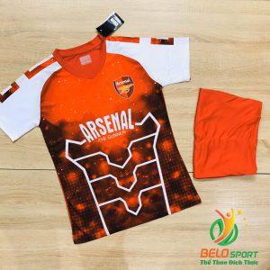 Áo bóng đá CLB Arsenal ngân hà màu đỏ trắng mới nhất năm 2020
