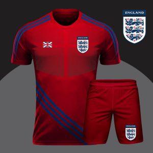 Áo bóng đá đọi tuyển Anh màu đỏ mới nhất 2020