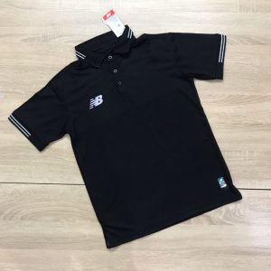 Áo đồng phục thể thao Polo NB001 màu đen mới nhất 2020