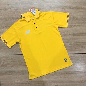 Áo đồng phục thể thao Polo NB001 màu vàng mới nhất 2020