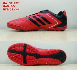 Giày bóng đá Prowin FX193T màu đỏ phối đen mới nhất 2020