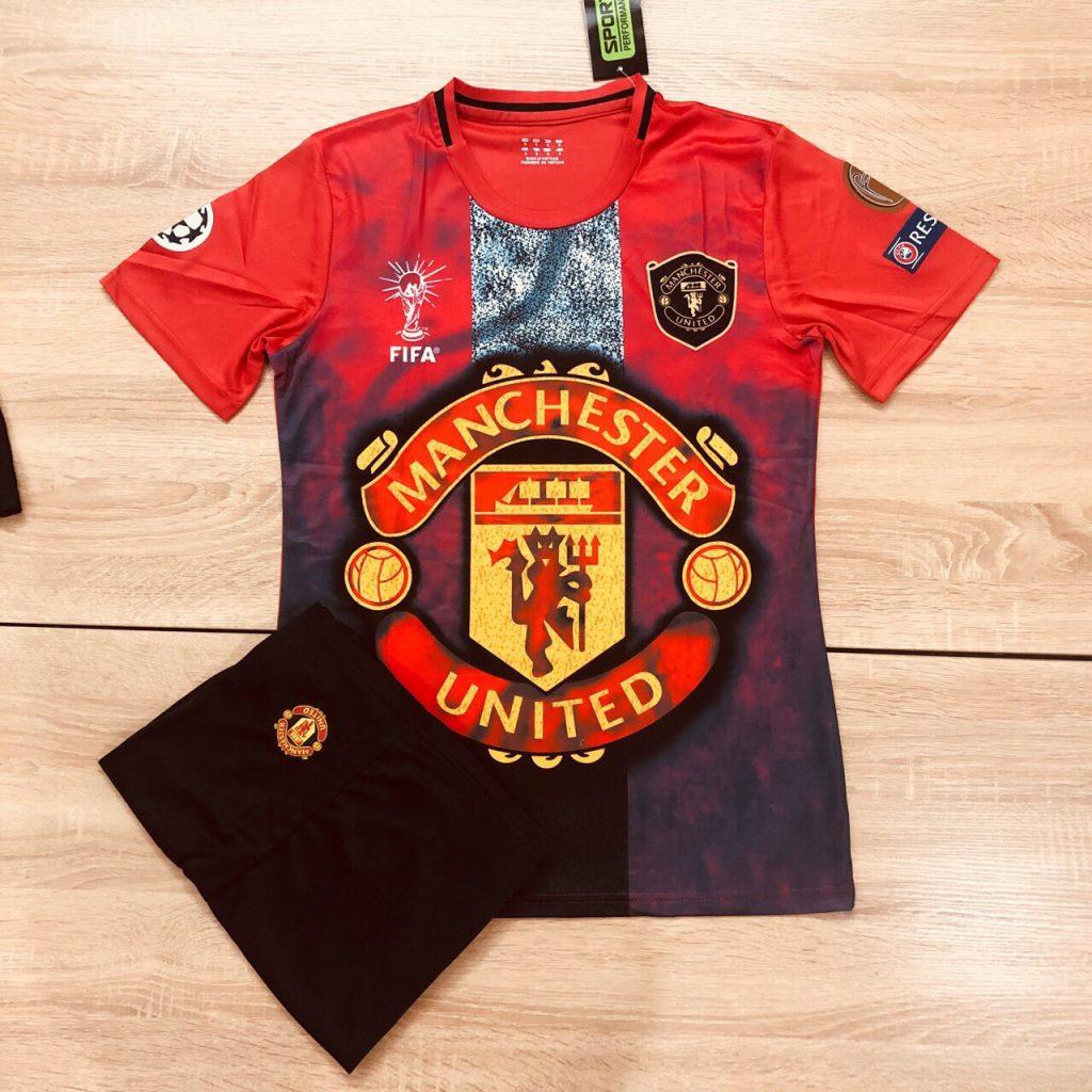 Áo bóng đá CLB Manchester United màu đỏ mới nhất 2020