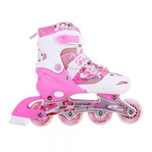 Giày trượt Patin mã 906 màu trắng phối hồng mới nhất 2020