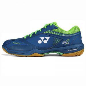 Giày cầu lông, bóng chuyền Yonex màu xanh dương phối xanh lá
