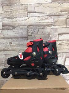 Giày trượt Patin mã 0705 màu đen phối đỏ mới nhất 2020