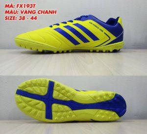 Giày bóng đá Prowin FX193T màu vàng phối xanh mới nhất 2020