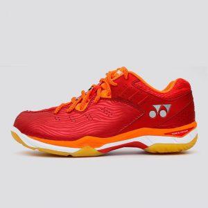 Giày cầu lông, bóng chuyền Yonex màu đỏ phối cam