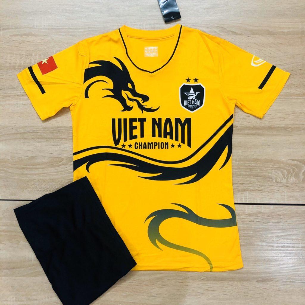 Áo bóng đá đội tuyển quốc gia Việt Nam rồng vàng mới nhất 2020