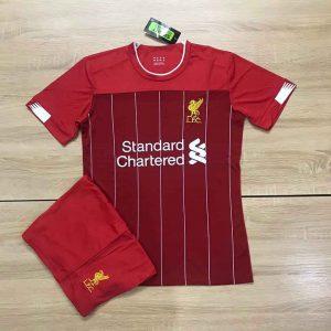 Áo bóng đá CLB Liverpool màu đỏ sẫm mới nhất 2020
