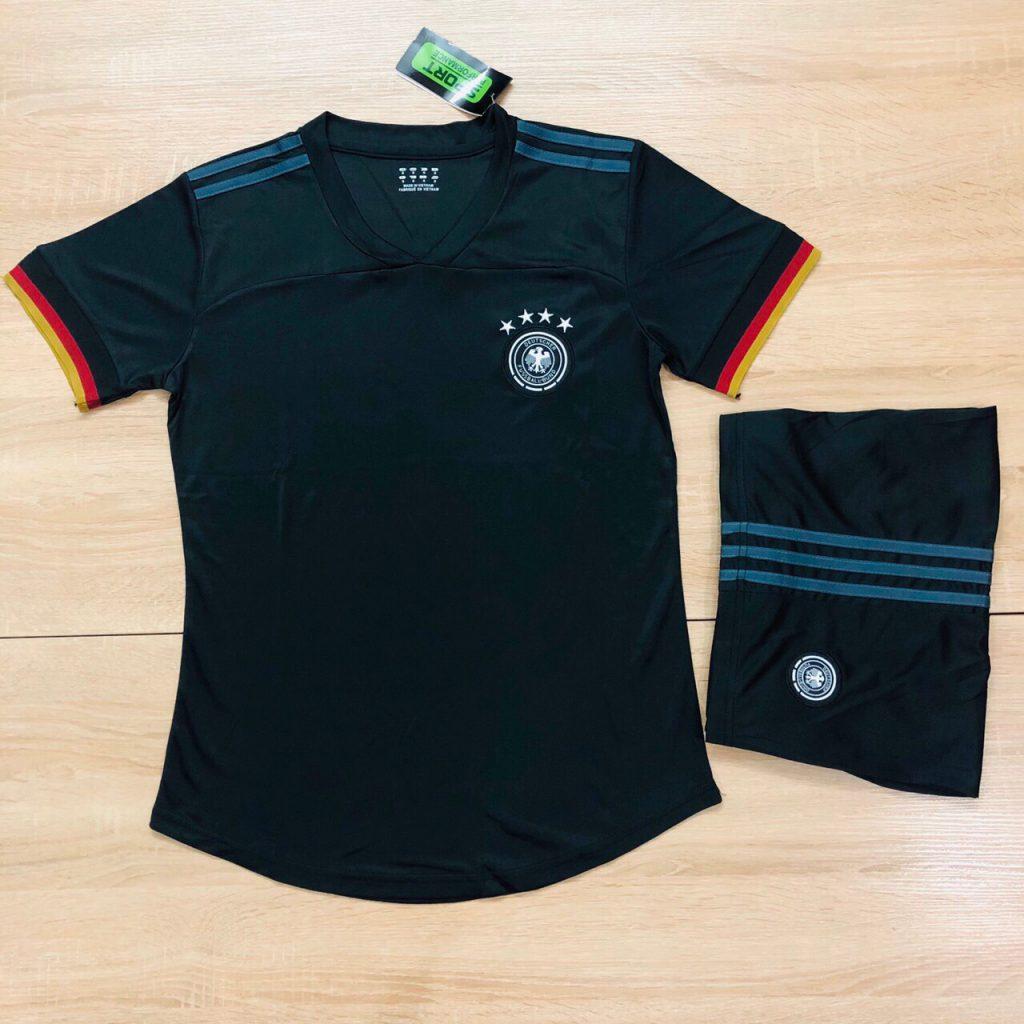 Áo bóng đá đội tuyển Đức màu đen xanh mới nhất 2020