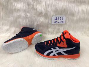 Giày bóng chuyền Asics mã 2839 màu đen phối đỏ mới nhất 2020
