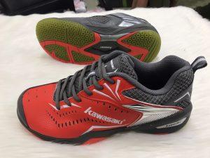 Giày cầu lông, bóng bán Kawasaki K526 chính hãng màu đỏ mới nhất 2020