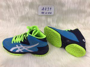 Giày bóng chuyền Asics mã 2839 phối màu xanh lá mới nhất 2020
