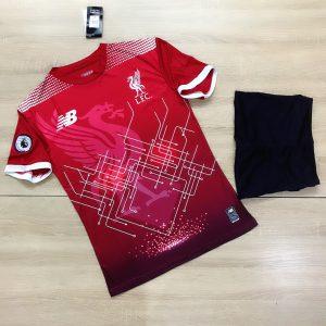 Áo bóng đá CLB Liverpool màu đỏ tươi mới nhất 2020