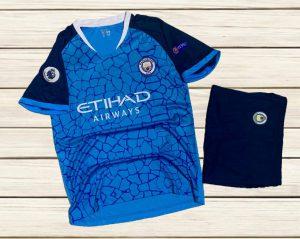 Áo bóng đá CLB Manchester City màu xanh đậm hot nhất 2020