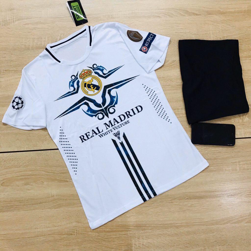 Áo bóng đá CLB Real Madrid mới nhất mùa hè năm 2020