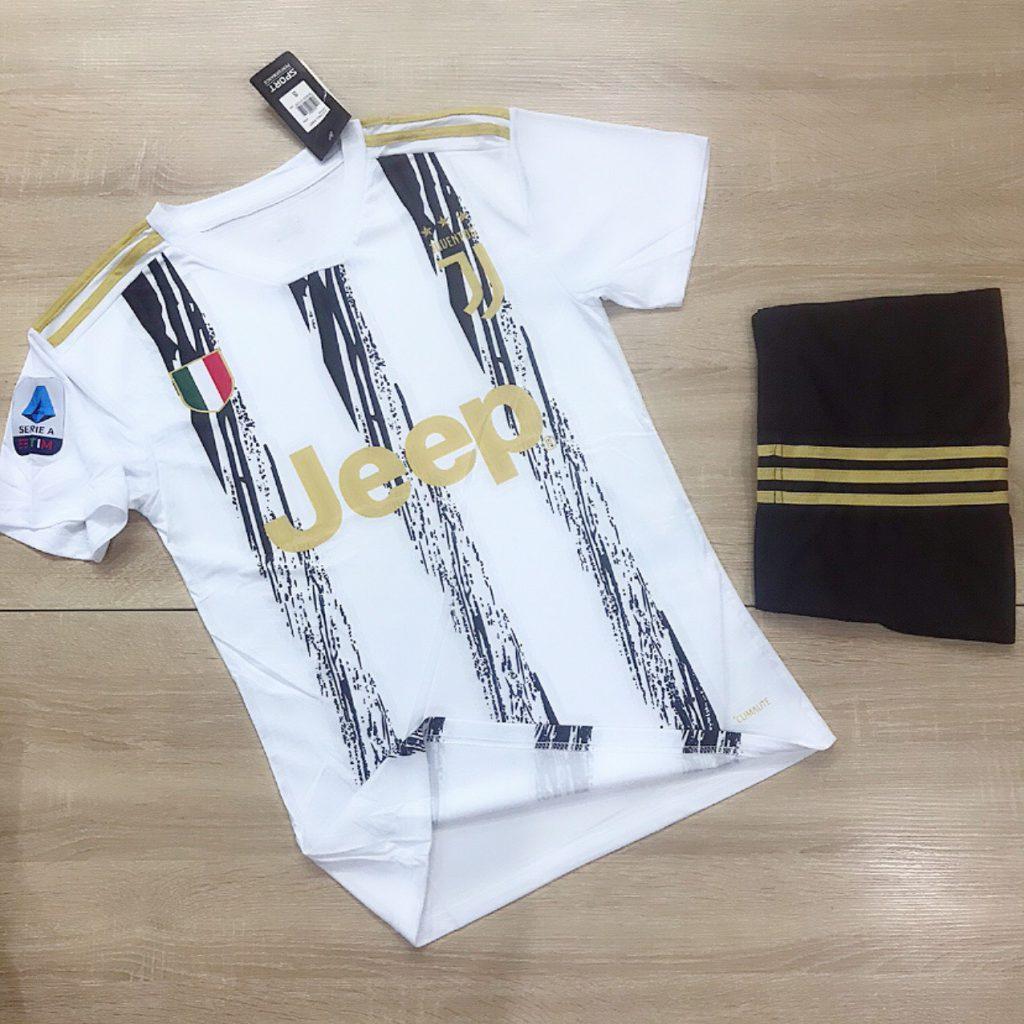 Áo bóng đá CLB Juventus mới nhất mùa hè năm 2020
