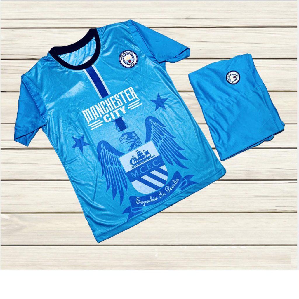 Áo bóng đá CLB Manchester City mùa hè năm 2020