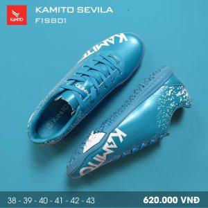 Giày bóng đá Kamito Sevila màu xanh da trời mới nhất 2020