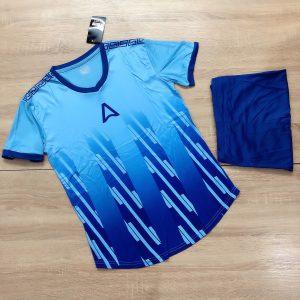 Áo bóng đá không logo Belo A1 màu xanh dương mới nhất năm 2020