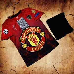 Áo bóng đá CLB Man United màu đỏ big logo mới nhất 2020