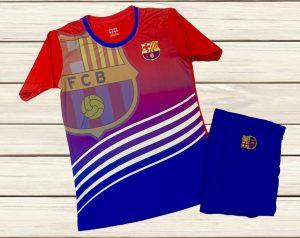 Áo bóng đá CLB Barca lượn sóng big logo mới nhất 2020