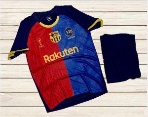 Áo bóng đá CLB Barca màu xanh đỏ truyền thống mới nhất mùa hè năm 2020