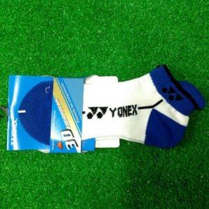 Tất cầu lông, bóng chuyền Yonex màu trắng phối xanh dương
