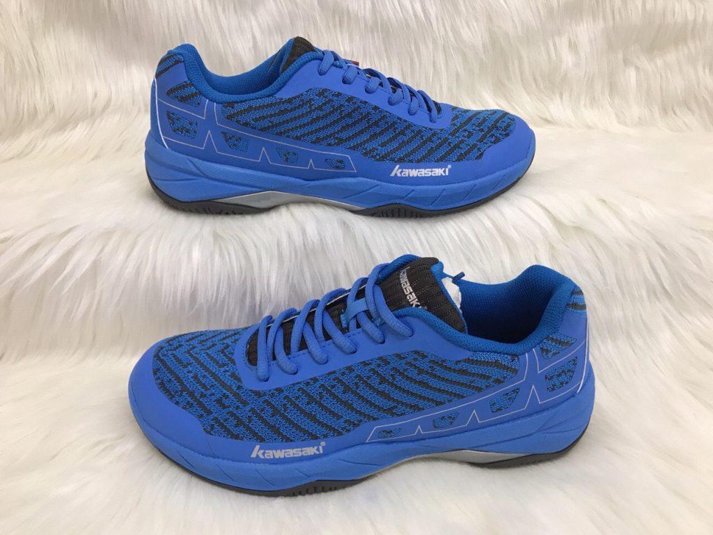 Giày cầu lông, Bóng bàn, bóng chuyền Kawasaki K353 màu xanh dương