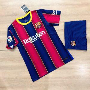 Áo bóng đá CLB Barca sọc truyền thống mới nhất mùa hè năm 2020