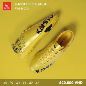 Giày bóng đá Kamito Sevila màu vàng mới nhất năm 2020