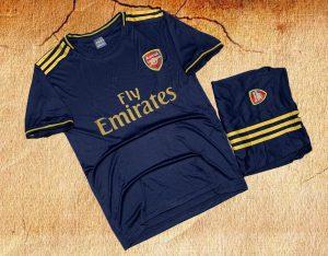 Áo bóng đá CLB Arsenal màu tím than mới nhất 2020