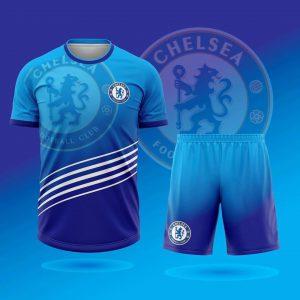 Áo bóng đá CLB Chelsea lượn sóng mới nhất mùa hè năm 2020