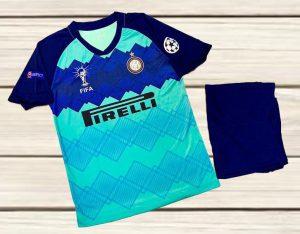 Áo bóng đá CLB Intermilan màu xanh non mới nhất 2020
