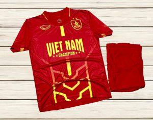 Áo bóng đá đội tuyển quốc gia Việt Nam màu đỏ mới nhất năm 2020