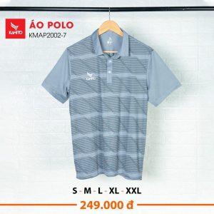Áo Polo Kamito KMAP2002-7 chính hãng màu xám