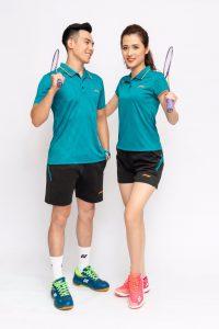 Áo cầu lông Lining L3 màu xanh lục mới nhất năm 2020