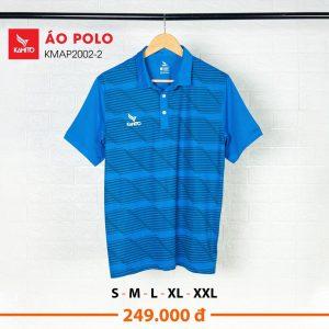 Áo Polo Kamito KMAP2002-2 chính hãng màu xanh dương