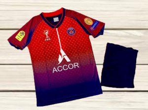 Áo bóng đá CLB Paris Saint Germain màu đỏ mới nhất mùa 2020 2021