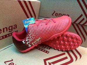 Giày bóng đá Zenga màu đỏ chuẩn form chân người Việt