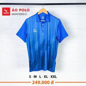 Áo Polo Kamito KMAT2003-2 chính hãng màu xanh dương