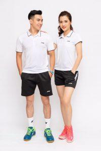 Áo cầu lông Lining L3 màu trắng mới nhất năm 2020