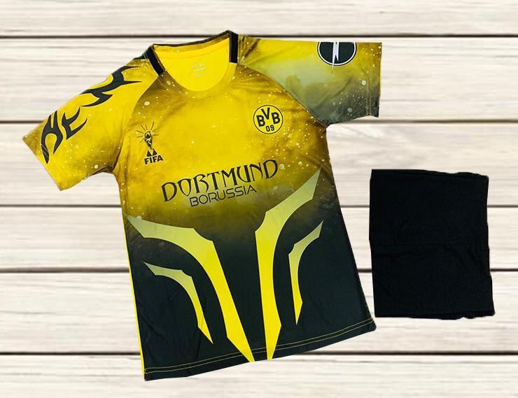 Áo bóng đá CLB Dortmund màu vàng phối đen mùa 2020-2021