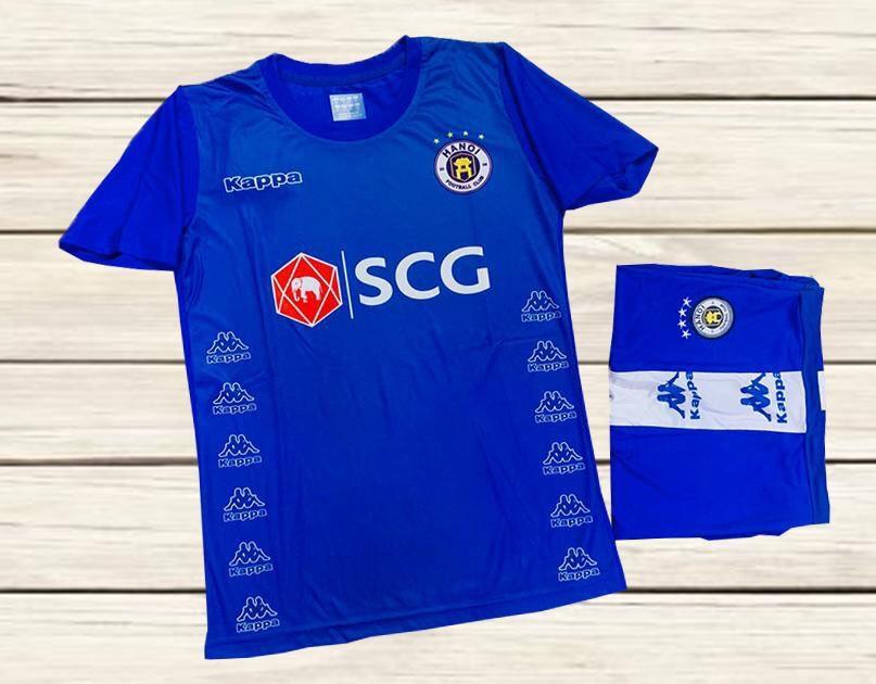 Áo bóng đá CLB Hà Nội màu xanh dương mùa 2020-2021