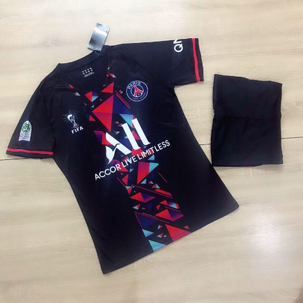 Áo bóng  đá  Cao Cấp giá rẻ  Clb Paris. Saint Germain Màu Đen