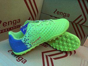 Giày bóng đá Zenga màu xanh lá chuẩn form chân người Việt