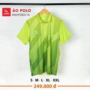 Áo Polo Kamito KMAP2003-14 chính hãng màu xanh chuối