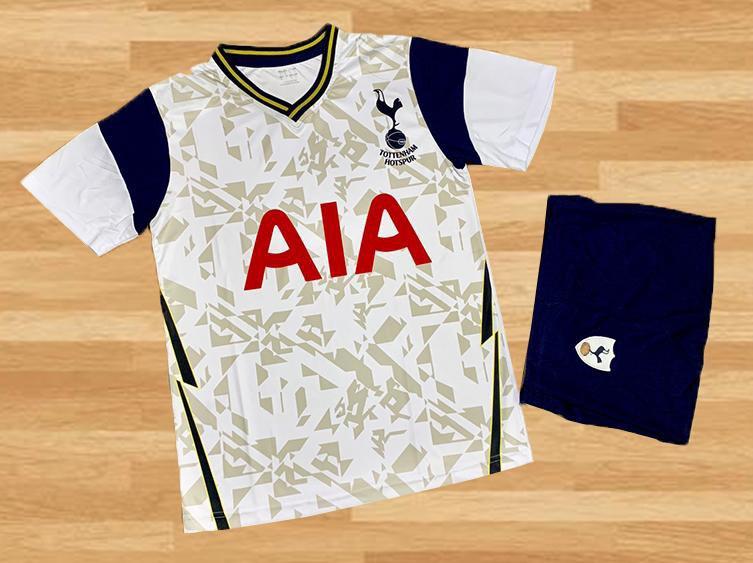 Áo Bóng Đá Clb Tottenham Hotspur Vải Thun Cao Cấp Mùa 2020-2021