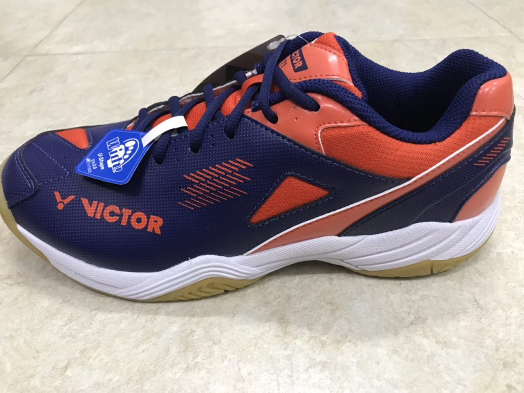 Giày cầu lông, bóng chuyền Victor A171 màu Tím than